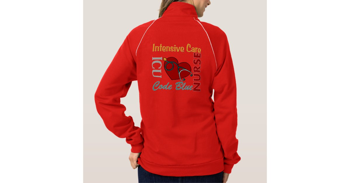 Icu Nurse Jacket Zazzle