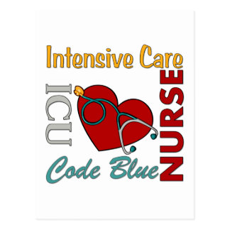 ICU - Nurse Postcard