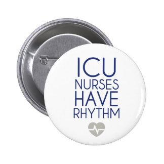 ICU Nurses Pinback Button