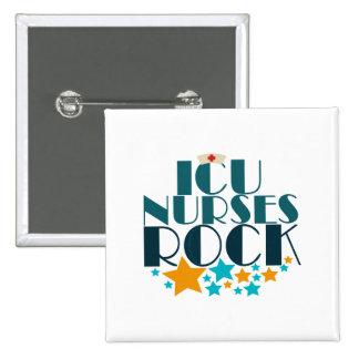 ICU Nurses Rock Button
