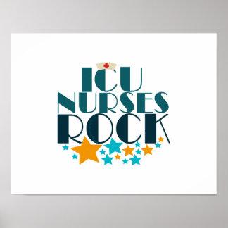 ICU Nurses Rock Poster