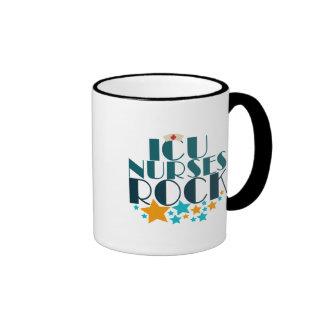 ICU Nurses Rock Ringer Mug