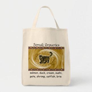 ICU Somali Cat Groceries Tote Bag