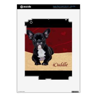 iCuddle French Bulldog iPad 3 Skin
