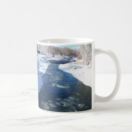 Icy Arkansas River Classic White Coffee Mug