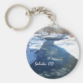 Icy Arkansas River Key Chains