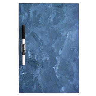 Icy Blue Ice Cube Whiteboard Dry-Erase Whiteboard