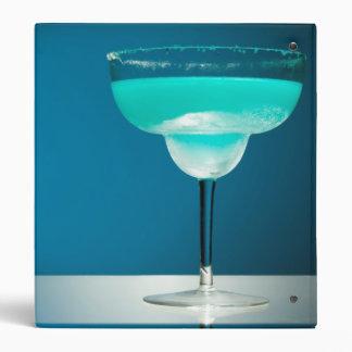 Icy Blue Margarita Binder