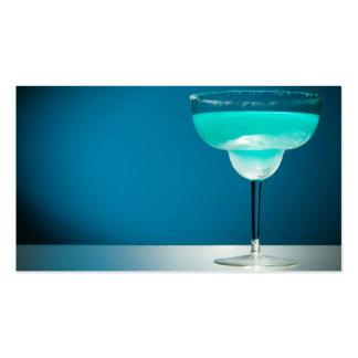 Icy Blue Margarita Business Card