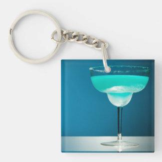 Icy Blue Margarita Keychain