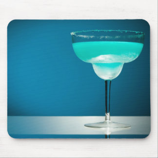 Icy Blue Margarita Mouse Pad