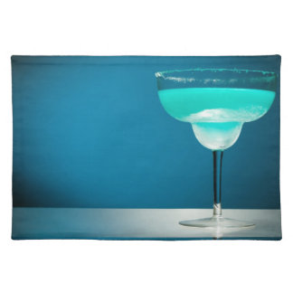 Icy Blue Margarita Place Mat