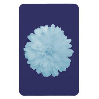 Icy Blue Marigold Premium Magnet