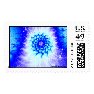 Icy Blue Postage