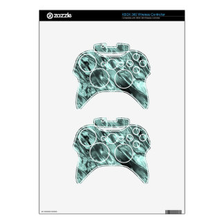 Icy Blue Waters Xbox 360 Controller Decal