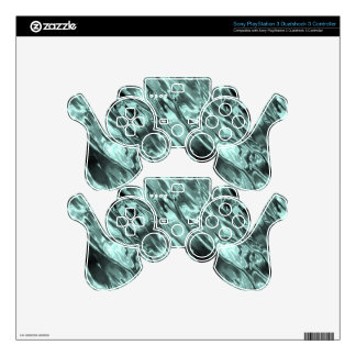 Icy Blue Waters Decal For PS3 Controller