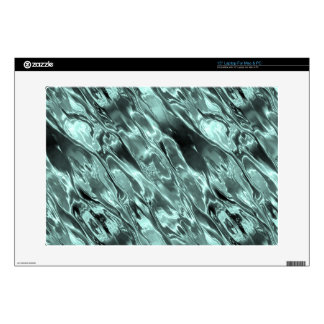Icy Blue Waters Decals For Laptops