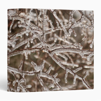 "Icy Branches 1.5"" Photo Album Binder"