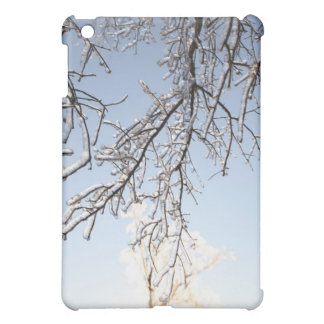 Icy Branches iPad Mini Cover