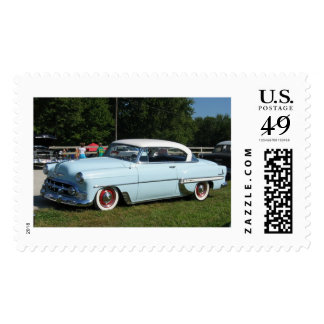 Icy Chevy Bel Air Postage Stamp