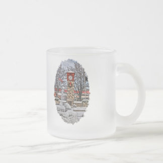 Icy Cold H-town Frosted Glass Mug