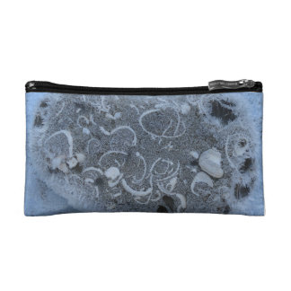 Icy cosmetic bag