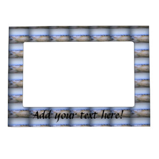 Icy Farm Magnetic Photo Frame
