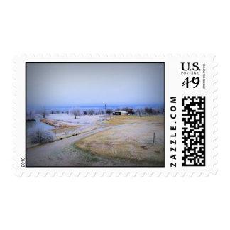 Icy Farm Postage