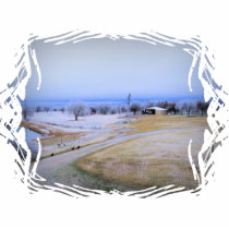 Icy Farm Statuette