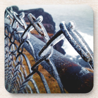 Icy Fence Beverage Coaster