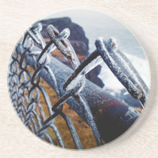 Icy Fence Coasters