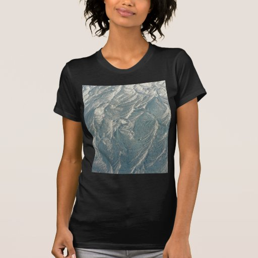 Icy Frost Pattern T Shirts