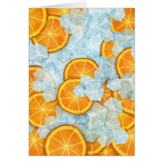 Icy fruit card