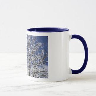 Icy Ghost Trees Mug