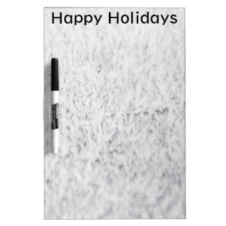 Icy Happy Holidays Dry-Erase Board