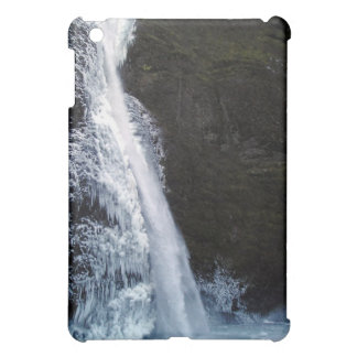 Icy Horsetail Falls in Winter Speck iPad Case