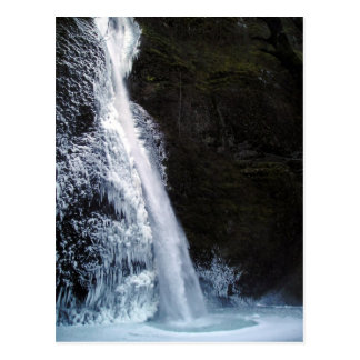 Icy Horsetail Falls Postcard