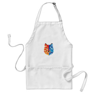 Icy Hot Wolf Adult Apron