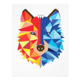 Icy Hot Wolf Letterhead
