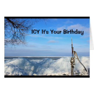 Icy It's Your Birthday I'm Sure You're Pumped! Card