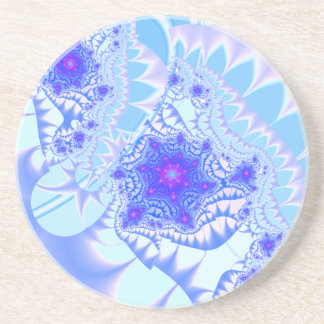 Icy Lace Beverage Coaster