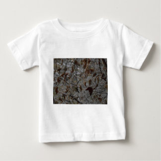 Icy Leaves Baby T-Shirt