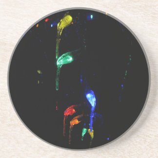 Icy Lights Drink Coasters