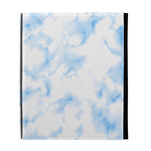 Icy Look Abstract. iPad Folio Covers