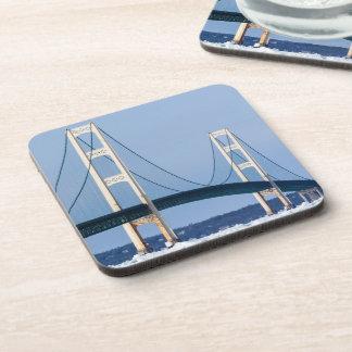 Icy Mackinac Bridge Coaster