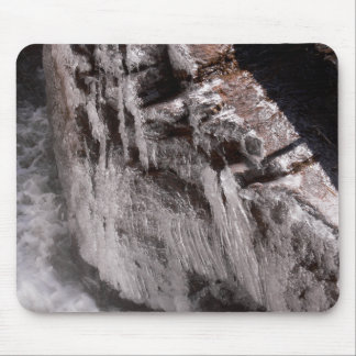 Icy Mist at Ouzel Falls Mouse Pad