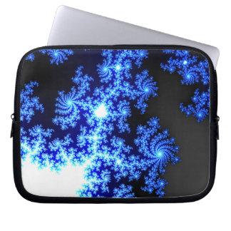 Icy Night Laptop Laptop Sleeves