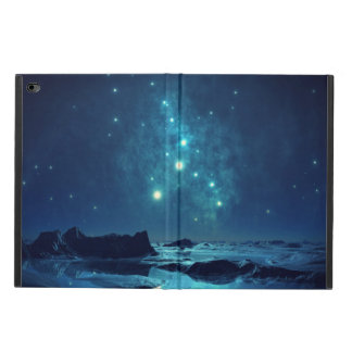 Icy North Landscape At Night With Luminous Stars Powis iPad Air 2 Case