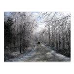 Icy Passage Postcard