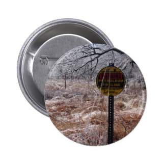 Icy Petroleum Pipeline Warning Buttons
